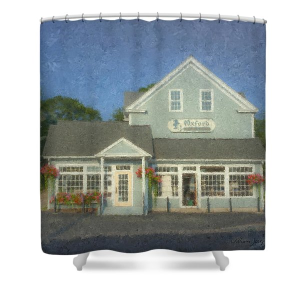 Oxford Cleaners Shower Curtain