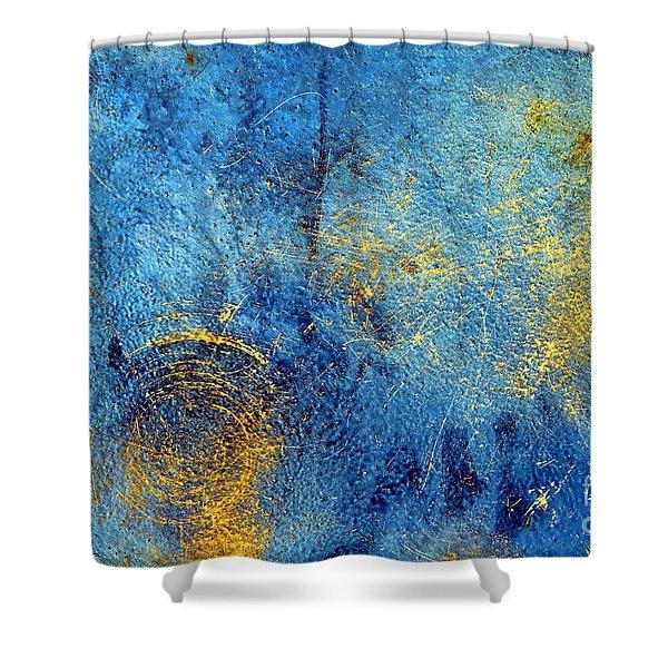 Oxidized Shower Curtain