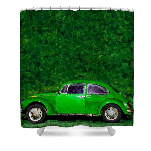 Oyama Bug Shower Curtain