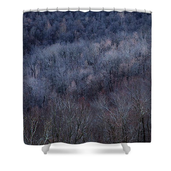 Ozark Trees #3 Shower Curtain