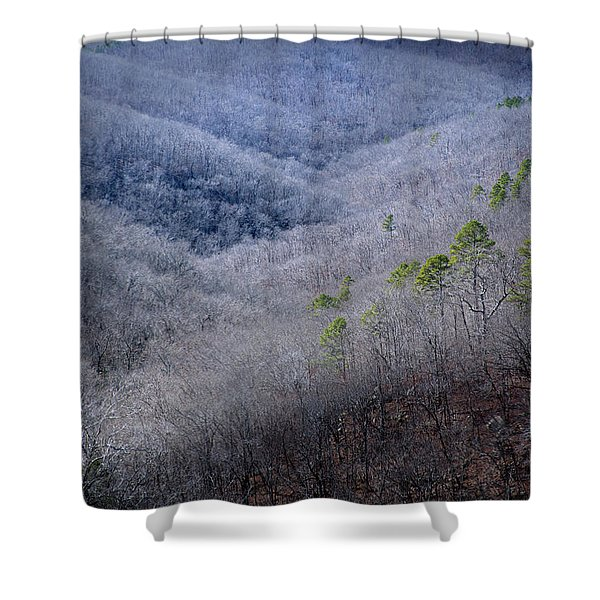 Ozarks Trees #4 Shower Curtain