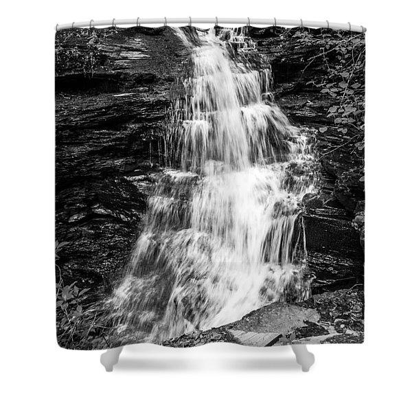 Ozone Falls - 8889 Shower Curtain