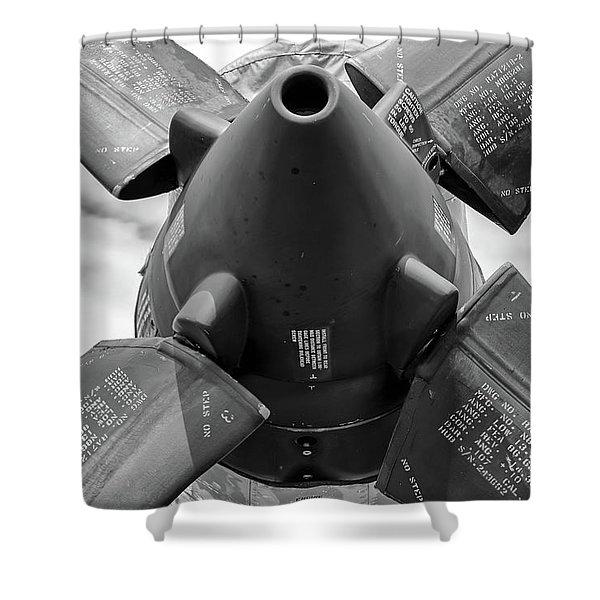 P-3 Prop Shower Curtain