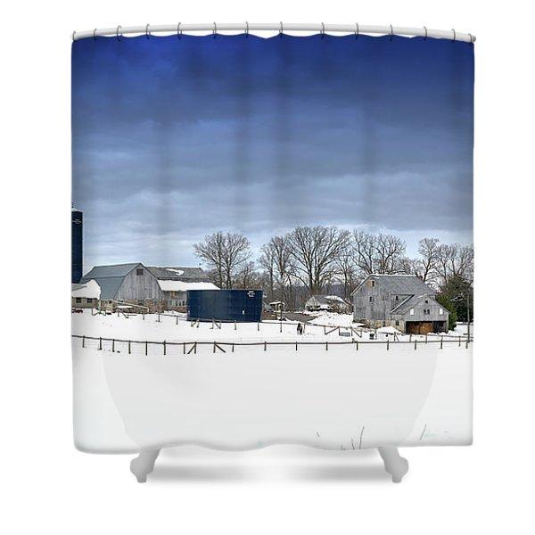 Pa Farm Shower Curtain