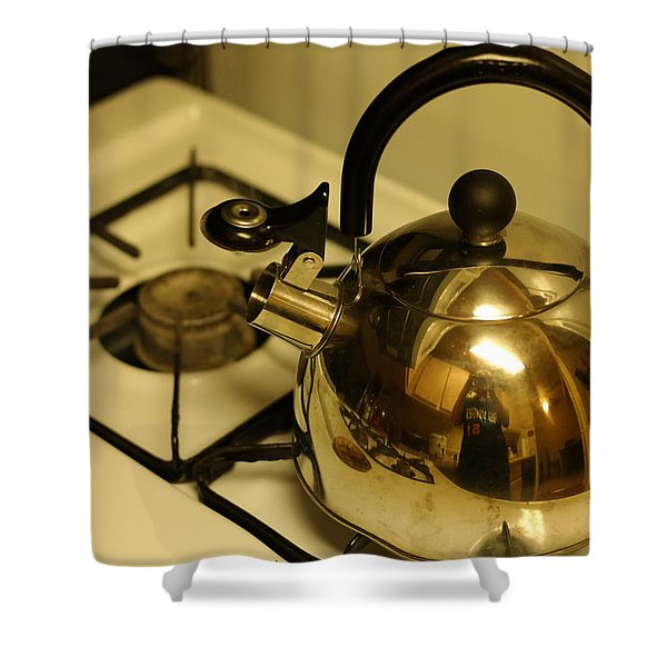 Pa Kettle Shower Curtain