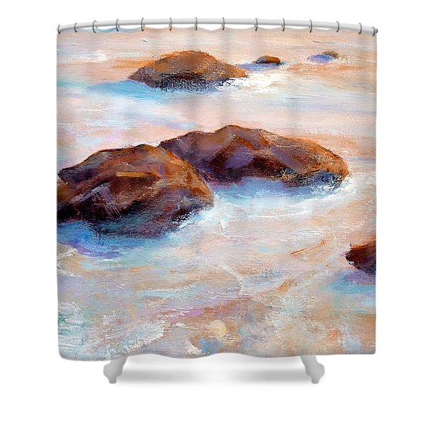 Pacific Ocean Shower Curtain