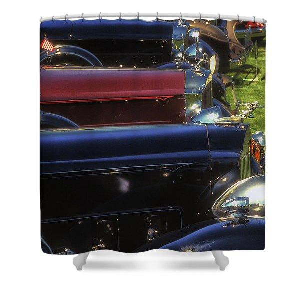 Packard Row Shower Curtain