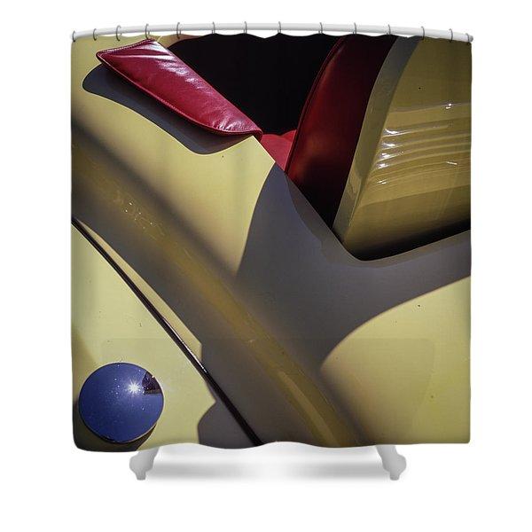 Packard Rumble Seat Shower Curtain