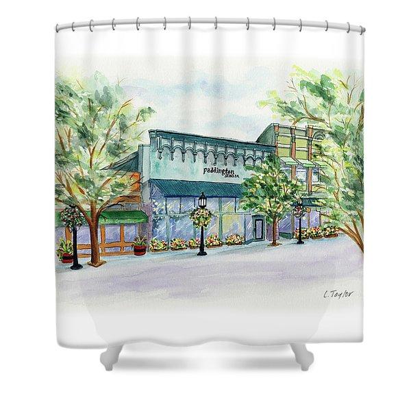 Paddington On Main Shower Curtain