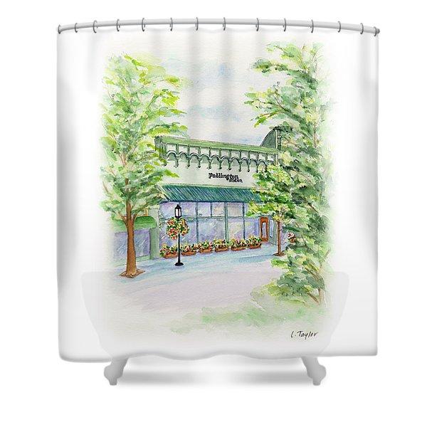 Paddington Station Shower Curtain