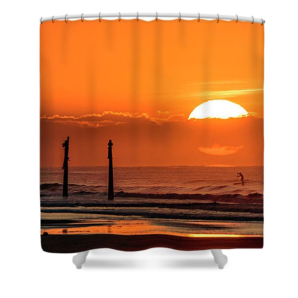 Paddle Home Shower Curtain