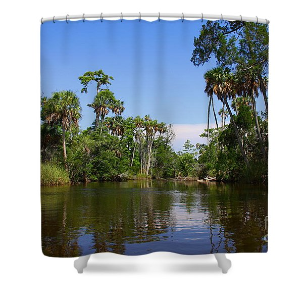 Paddling Otter Creek Shower Curtain