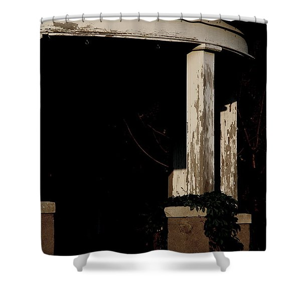 Pagan Porch Shower Curtain
