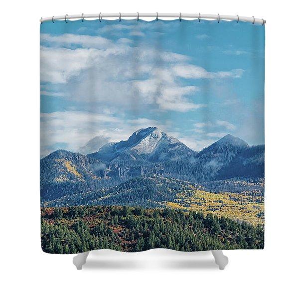 Pagosa Peak Autumn 2014 Shower Curtain