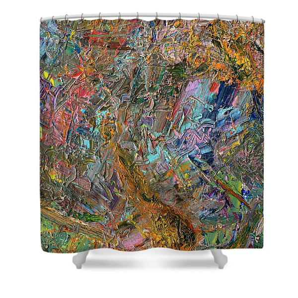 Paint Number 26 Shower Curtain