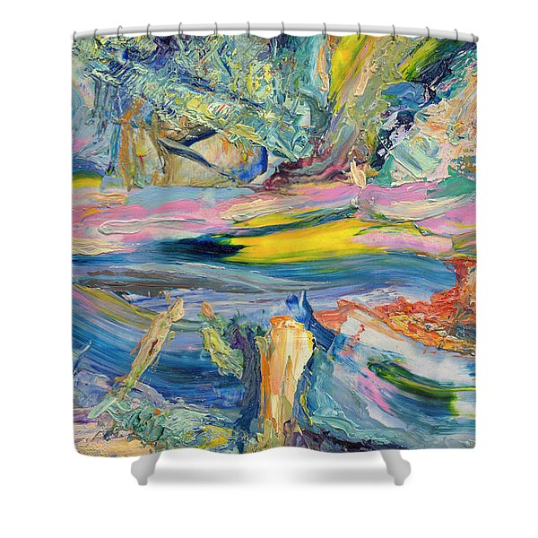 Paint Number 31 Shower Curtain