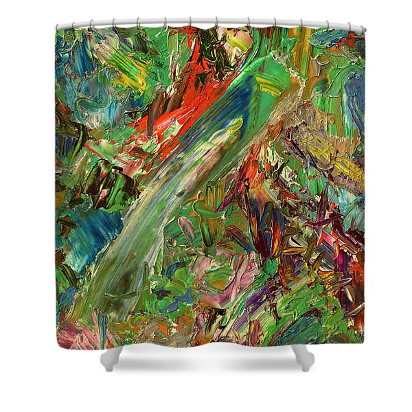 Paint Number 32 Shower Curtain