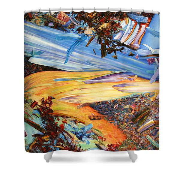 Paint number 38 Shower Curtain by James W Johnson
