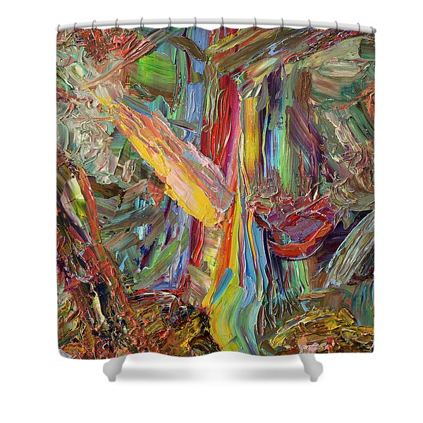 Paint Number 40 Shower Curtain