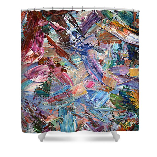 Paint Number 42-b Shower Curtain