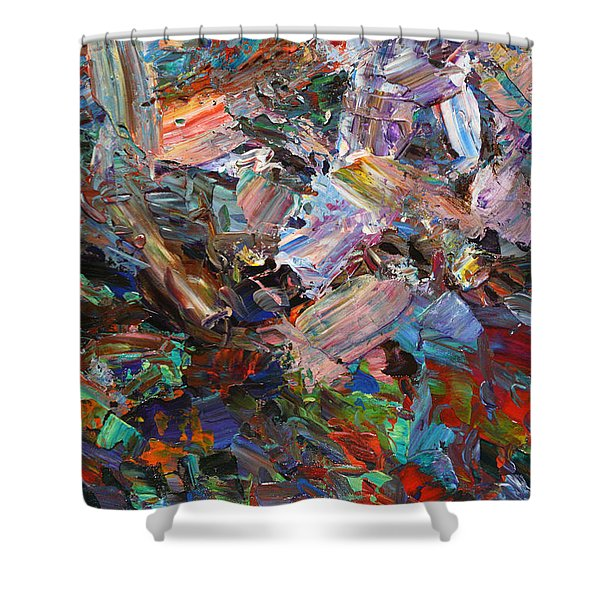 Paint Number 42-c Shower Curtain