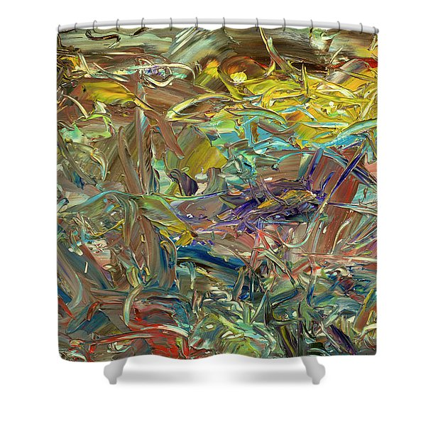 Paint Number46 Shower Curtain