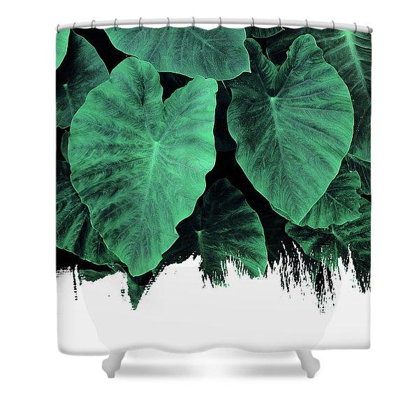 Paint On Jungle Shower Curtain