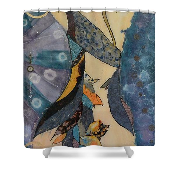 Painted Dancer Shower Curtain