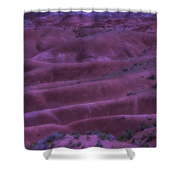 Painted Desert Azorina Shower Curtain