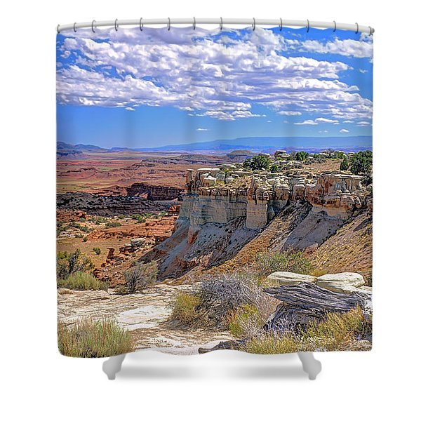 Painted Desert Of Utah Shower Curtain