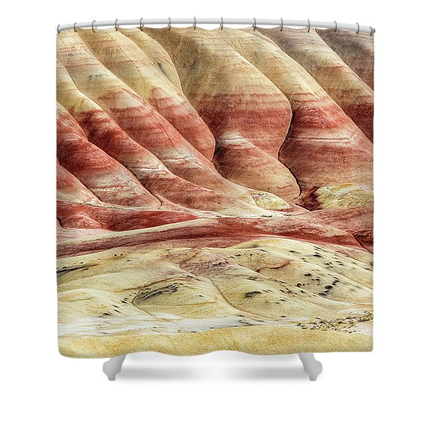 Painted Hills Landscape Shower Curtain