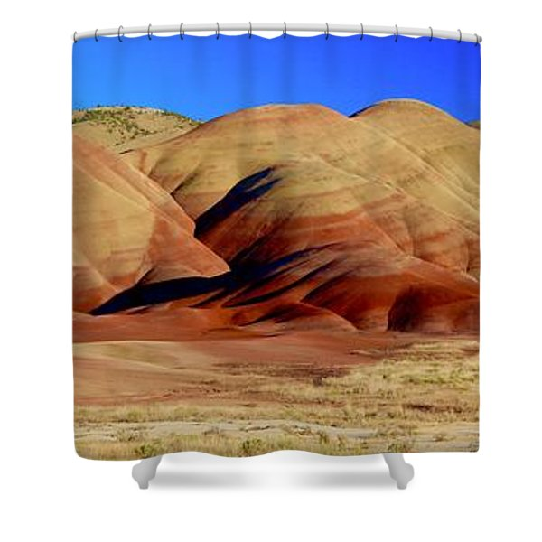 Painted Hills Pano Shower Curtain