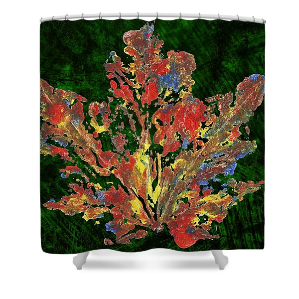 Painted Nature 1 Shower Curtain