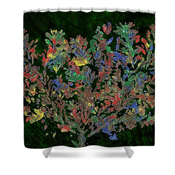 Painted Nature 2 Shower Curtain