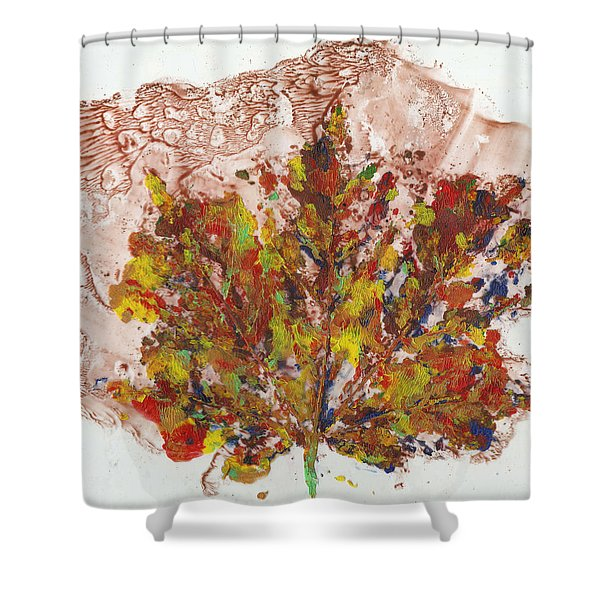 Painted Nature 3 Shower Curtain
