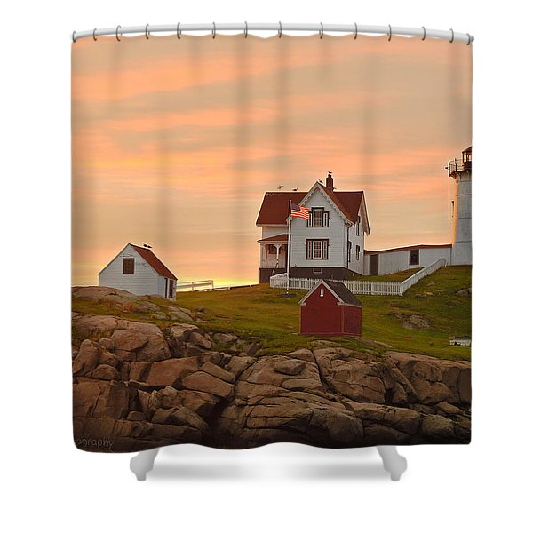 Painting The Skies Shower Curtain