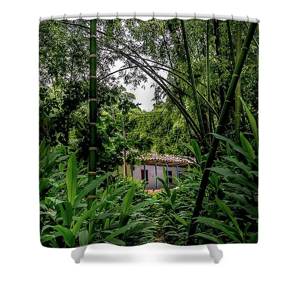 Paiseje Colombiano #10 Shower Curtain
