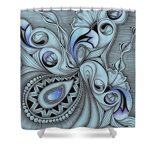 Paisley Power Shower Curtain