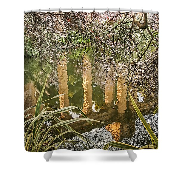 Palace Grounds 2007 Shower Curtain