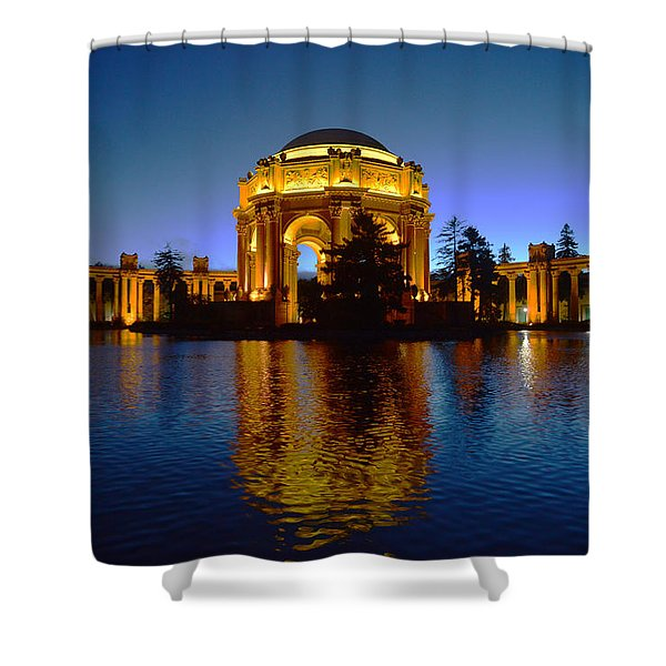 Palace Of Fine Arts Shower Curtain