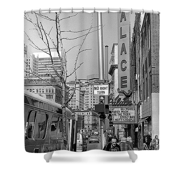 Palace Theatre, 1974 Shower Curtain