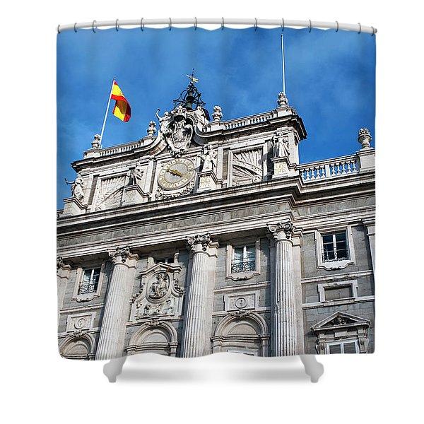 Palacio Real Shower Curtain