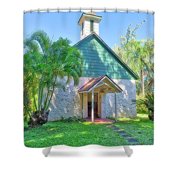 Palapala Ho'omau Congregational Church Shower Curtain
