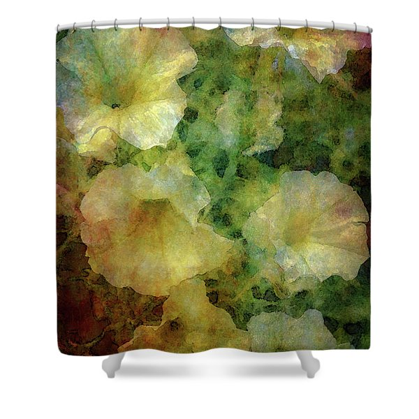 Pale Petunias 5146 Idp_2 Shower Curtain