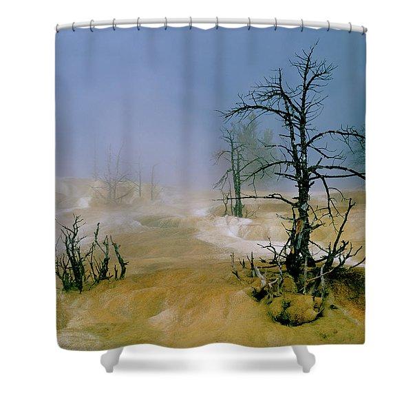 Palette Springs Shower Curtain