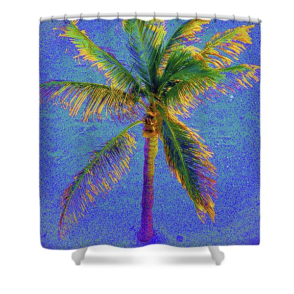 Palm 1005 Shower Curtain