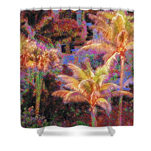 Palm 1008 Shower Curtain