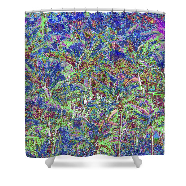 Palm 1010 Shower Curtain