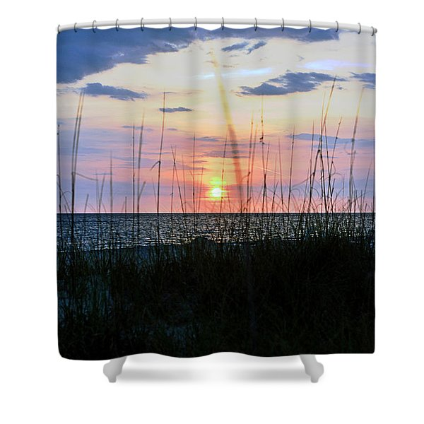 Palm Island II Shower Curtain