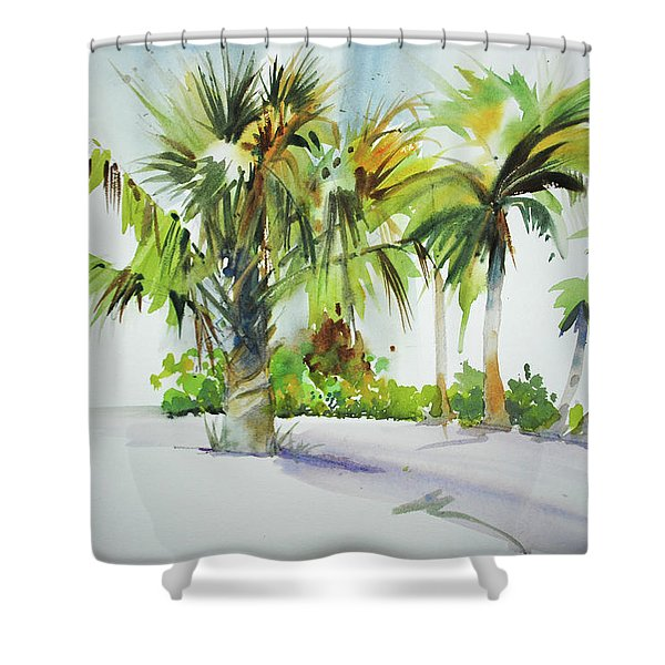 Palm Sunday Shower Curtain